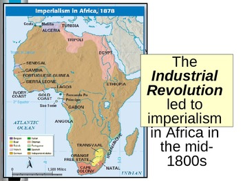 UNIT 10 LESSON 6. Imperialism in Africa POWERPOINT
