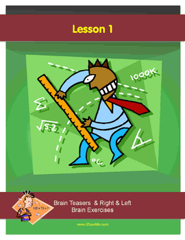 67 PAGE - MATH BRAIN TEASERS - STORY PROBLEMS & MORE