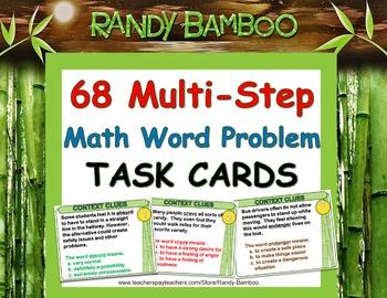 Multi-Step Math Word Problems