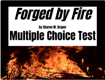 68-Question Multiple Choice Test for Forged by Fire by Sharon Draper