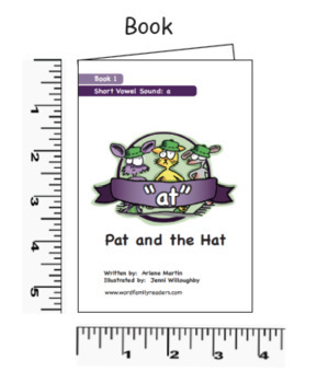 "68 Word Family Readers ""Book Kits"""