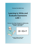 6.EE-1 Learning to Write and Evaluate Expressions