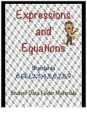 6.EE Expressions and Equations Student Data Folder