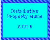 6.EE.3 Distributive Property Game