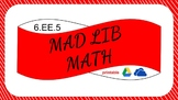 6EE5 Digital Mad Lib Math Activity