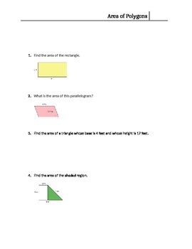 6.G.1 Quiz