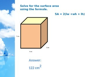 6.G.4 Solving for Surface Area and Identifying Nets