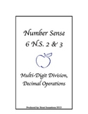 6.NS.2 and 3 Division and Decimals