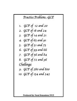 6.NS.4 Distributive Property, LCM, GCF, Divisibility Rules