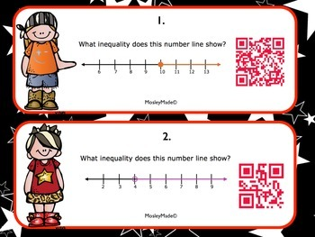 6.NS.7a & 6.NS.7b Solving Inequalities like a Rockstar