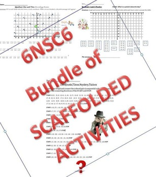 6NSC6 Coordinate Plane Bundle