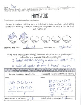 6.RP.1 Ratios - Ratio Relationships (2 lessons)