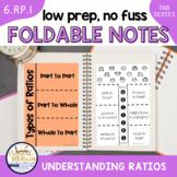 Understanding Ratios (Interactive Notebook Series) TEKS & CCSS Aligned!