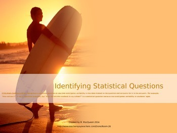 6.SP.1 Identifying Statistical Questions