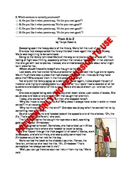 6TH GRADE ELA CCSS BENCHMARK ASSESSMENT
