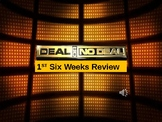 6TH WORLD HISTORY REVIEW DEAL OR NO DEAL