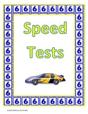 6's and 7's Multiplication Speed Tests