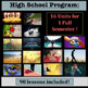 Middle/Jr High AND High School Sequential Health Curriculum