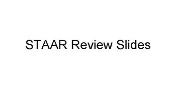 6th/7th/8th Grade STAAR Review Slides(Language Arts)