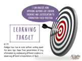 6th, 7th, and 8th Grade Common Core Standards and Learning Targets