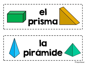 6th, 7th, and 8th Grade ENGLISH AND SPANISH Word Wall Cards Bundle