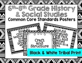 6th-8th Grade History & Social Studies Common Core Posters
