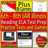 6th - 8th Grade IAR  - ELA Reading: Illinois Assessment of Readiness Test Prep