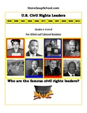 """6th - 8th Grade """"U.S. Civil Rights Leaders"""" for Gifted and Talented Students"""