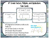 6th CMP3 Prime Time aligned task cards