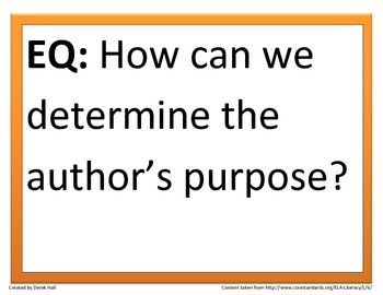 6th Common Core Reading Essential Questions (2nd 9 Weeks)