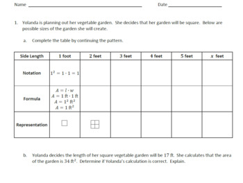 6th Gr Expressions and Equations Lessons, Student Worksheets, and Exit Tickets