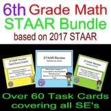 6th Grade 2017 STAAR Review Bundle Scoot Cards