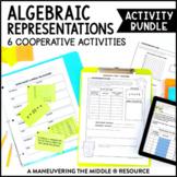 6th Grade Algebraic Representations Activity Bundle