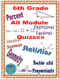 6th Grade All Module Engage NY/Eureka Topic Quizzes - Edit