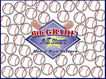 6th Grade All Stars