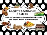 6th Grade Ancient Civilizations Posters