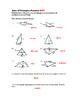6th Grade Area of Triangles Lesson: FOLDABLE & Homework