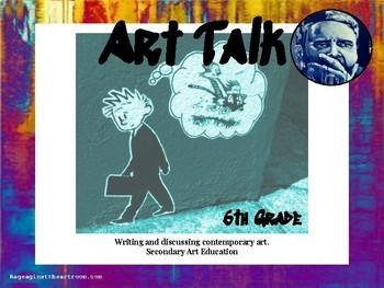 6th Grade Art Talk