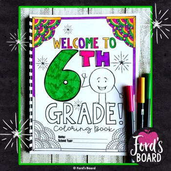 6th Grade Back to School Coloring Pages | Coloring Book