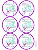 6th Grade Back to School Tags