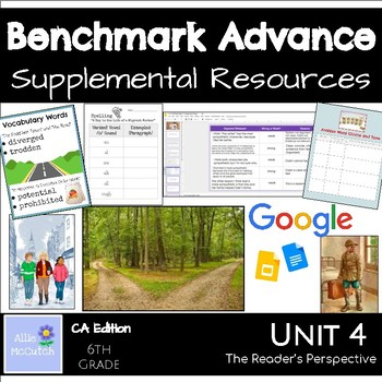 6th Grade Benchmark Advance Resources Unit 4 A Reader's Perspective