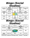 6th Grade Bingo Review for GA Milestone