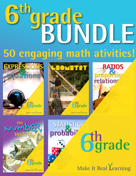 6th Grade - Bundle - 50 Activities
