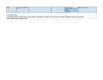 6th Grade CA Common Core Outline