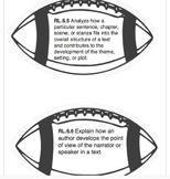 6th Grade CC Reading Standards Footballs