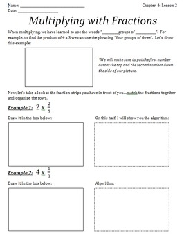 6th Grade CCLS- Multiplying and Dividing Fractions Notes Bundle