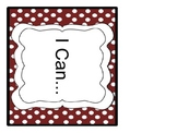 """6th Grade CCSS """"I Can"""" statements for the Writing and Language Strands"""