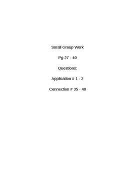 6th Grade CMP3 Lesson Plan - Comparing Bits and Pieces 1.1 - Workshop Model