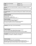 6th Grade CMP3 Lesson Plan - Prime Time 2.1 - Workshop Model