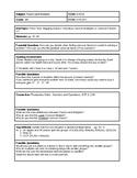 6th Grade CMP3 Lesson Plan - Prime Time 2.3 - Workshop Model